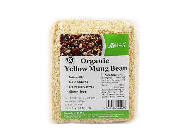 Organic Yellow Mung Bean