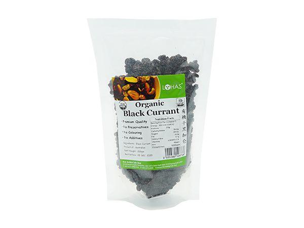 Organic Dried Black Currant